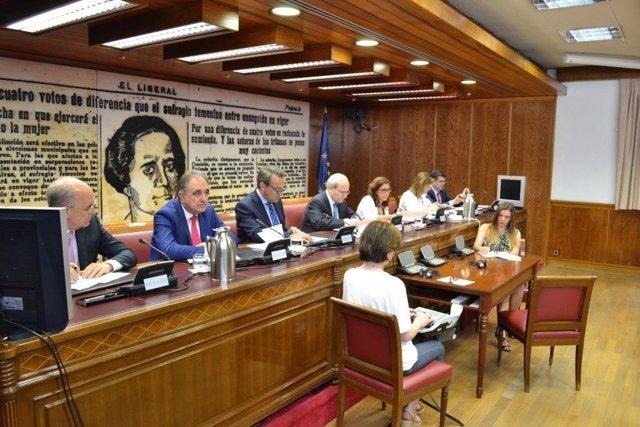 Secretario de Estado de Defensa, Agustín Conde, en el Senado