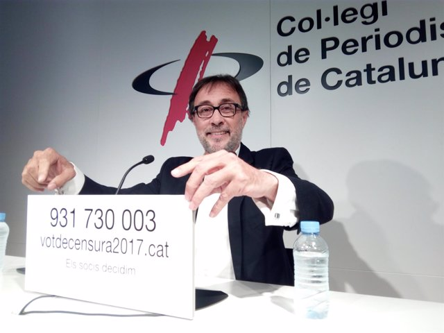Agustí Benedito, ex candidato a las elecciones a la presidencia del FC Barcelona