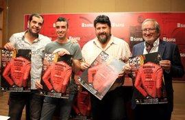 El rojo y el cuero del cartel de Julio Hernando ilustrará el festival de Soria Rock 2017