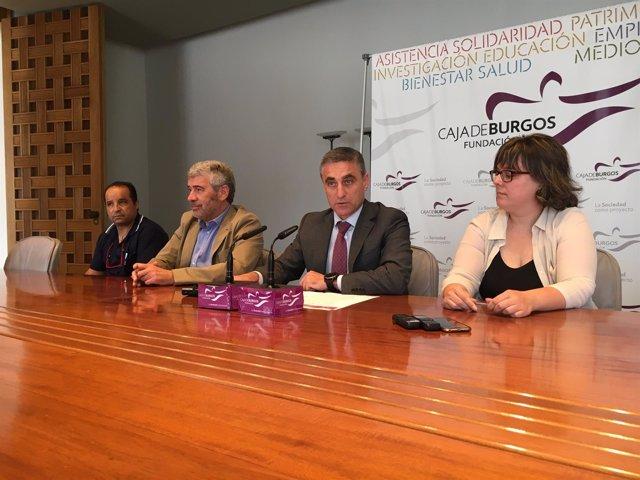 Agapito Hernández, Jorge Simón, Rafael Barbero y Laura Pérez.