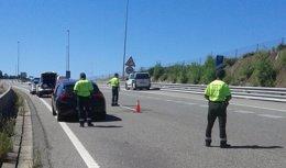 Interceptado un conductor a 225 km/h en O Carballiño