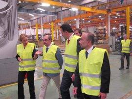 Lambán cree que en dos o tres años Aragón será una plataforma logística en el comercio con China
