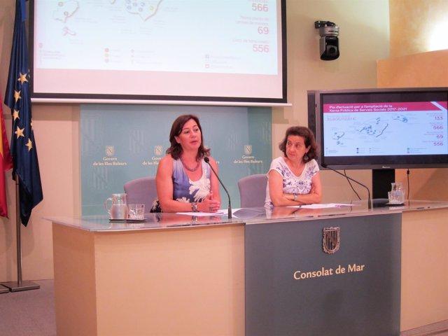 Armengol y Santiago presentan la ampliación de la red de servicios sociales