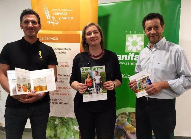 Presentación de la campaña 'Vida activa, nutrición y salud ósea'.