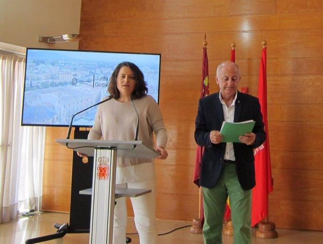 Lola Sánchez y Roque Ortiz