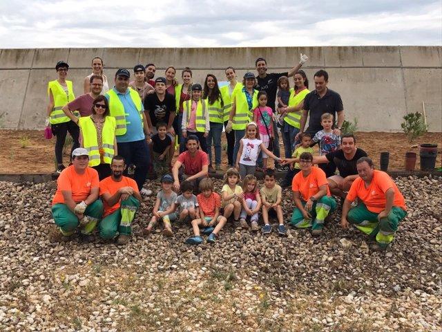 Plantación solidaria del Puerto de Tarragona