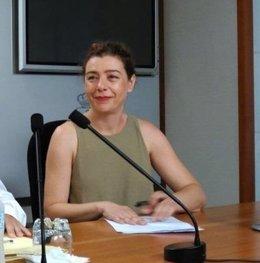 Cristina Pontón, portavoz del Grupo Municipal de IU Oviedo.