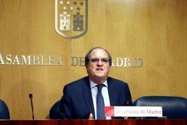 """Gabilondo dice que la moción de censura servirá """"para que Cifuentes al acabar el día manifieste que no hay alternativa"""""""