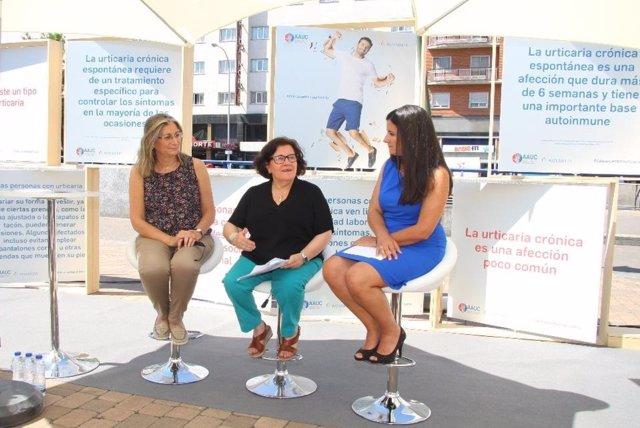 Comienza en Madrid 'Dale la vuelta a la urticaria' para concienciar e informar
