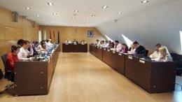 Pleno municipal del Ayuntamiento de Arganda