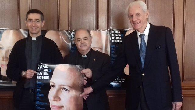 Rueda de prensa en el Obispado sobre financiación de la Iglesia