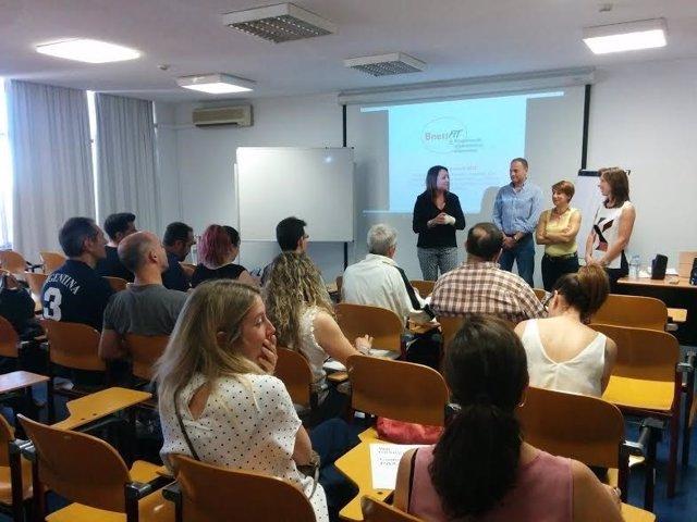 Una de las sesiones presenciales de 'BnessFit Emprendimiento'