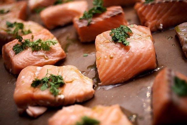 Salmón, omega 3, pescado
