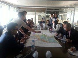 La delegación china busca en Plaza una plataforma hacia América Latina