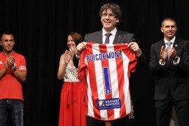 """Puigdemont afirma que el ascenso del Girona FC demuestra que """"no hay sueños imposibles"""""""