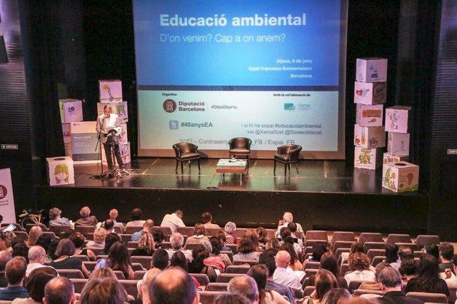 Jornada de la Diputación de Barcelona sobre educación ambiental