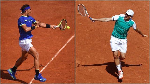 Nadal y Thiem en Roland Garros