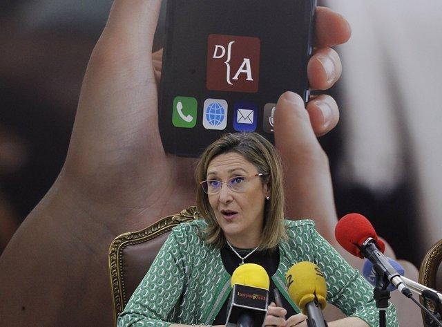 Decana del Colegio de Abogados de Madrid, Sonia Gumpert.