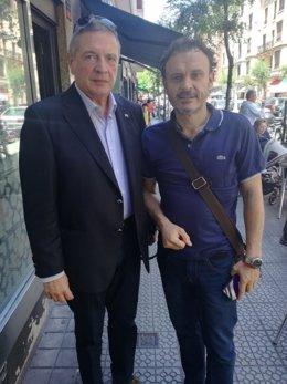 Julián Celaya y Unai Ortuzar