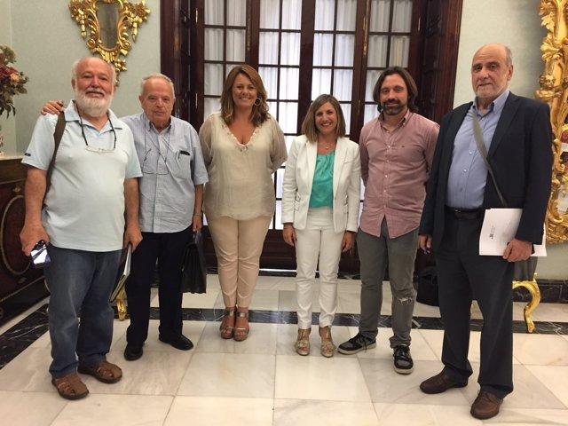 Reunión entre Diputación y entidades sociales