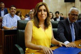 Susana Díaz se reúne con los secretarios provinciales del PSOE-A en plenas especulaciones de crisis de gobierno