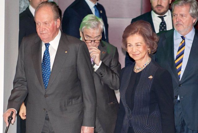 Juan Carlos y Sofía/EuropaPress
