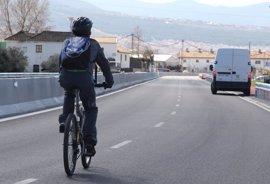 El Gobierno registró 235 accidentes de tráfico con ciclistas implicados en 2016