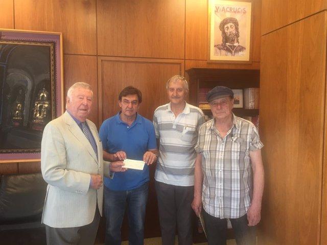 Np. Fundación Caja Rural Del Sur Entrega Lo Recaudado En La Exposición De Alfons