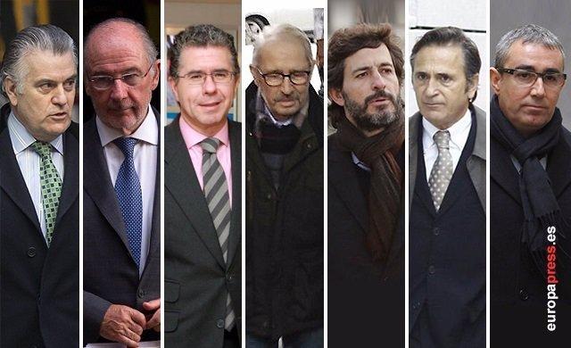Montaje de los que se acogieron a la amnistía fiscal de 2012