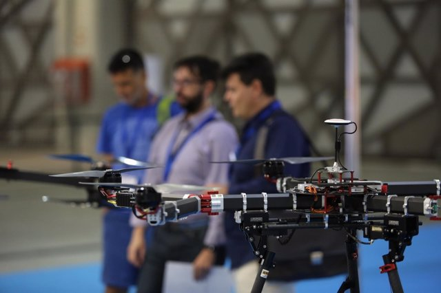 Drone en Salón Hi!Drone Technology
