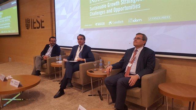 Ignacio Gzlez (Nueva Pescanova) Fernando Pasamón (Deloitte) Ricardo Currás (DIA)