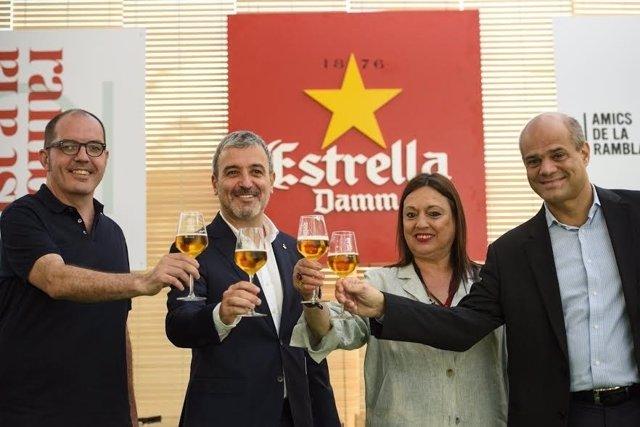 Jaume Collboni, Roser Torras, Gonzalo Robredo y Fermín Villar