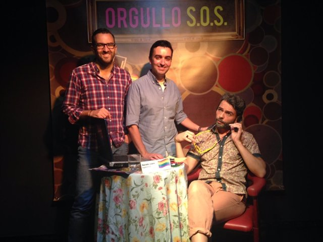 Orgullo SOS. La obra abrirá la I Muestra de Teatro con Orgullo de Sevilla