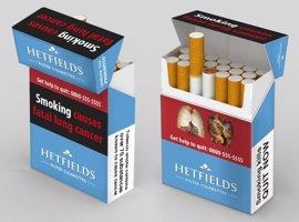 El Gobierno aprueba la trasposición de la directiva europea del tabaco, que amplía las advertencias en cajetillas