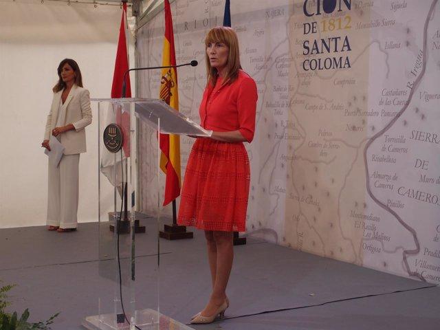 Ana Lourdes González en Santa Coloma