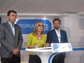 """El PP aprueba abrir una negociación con CC para cogobernar en Canarias aunque """"no a cualquier precio"""""""