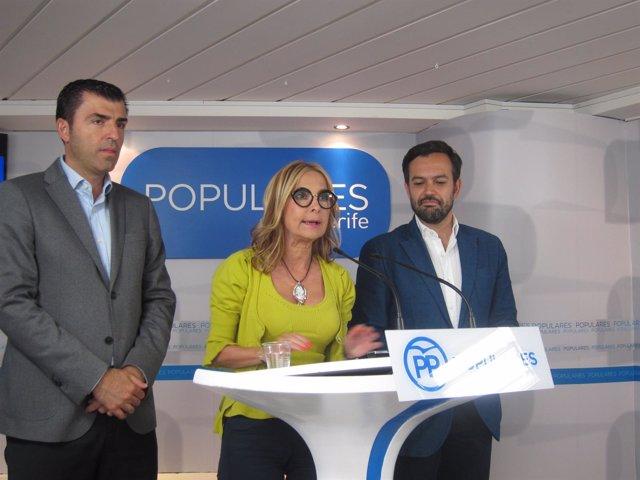 Navarro, en rueda de prensa