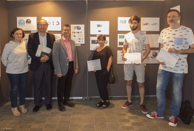 Ganadores del concurso del logotipo para el centenario del edificio de Easdib