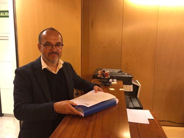 El portavoz de PDeCAT en el Congreso, Carles Campuzano