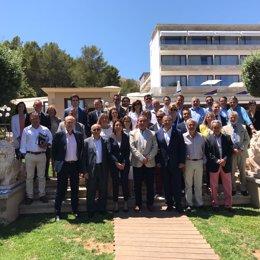 La Asociación de Hoteleros Palmanova-Magaluf y el alcalde de Calvià