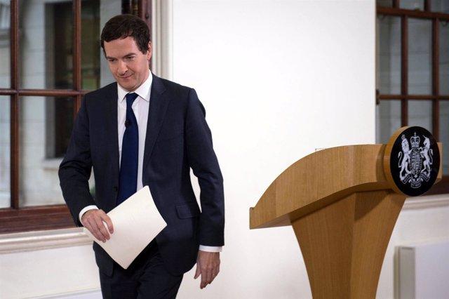 El ministro de Finanzas de Reino Unido, George Osborne