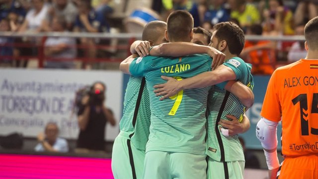 El FC Barcelona Lassa suma el primer punto en la final