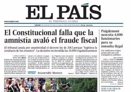 Las portadas de los periódicos de hoy, viernes 9 de junio de 2017