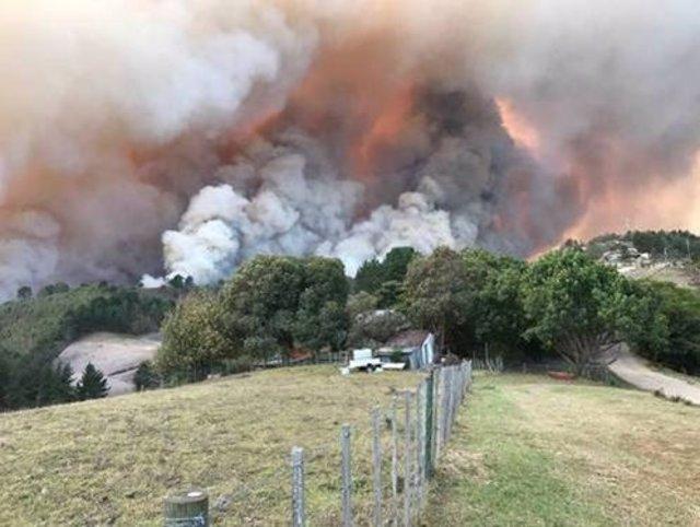Evacuadas 10.000 personas de la localidad de Knysna a causa de varios incendios