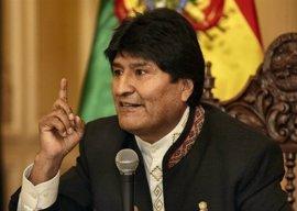 """Morales subraya que Bolivia """"no callará"""" hasta lograr una salida al mar"""