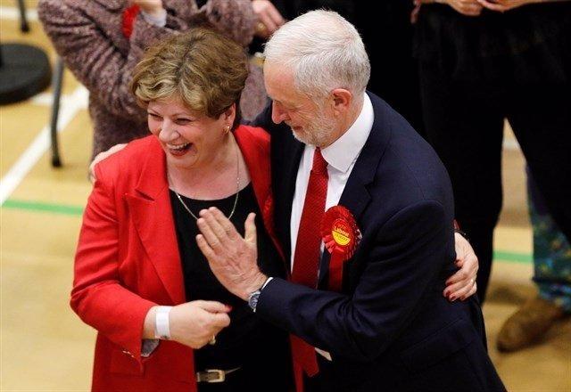 Jeremy Corbyn en las elecciones de Reino Unido