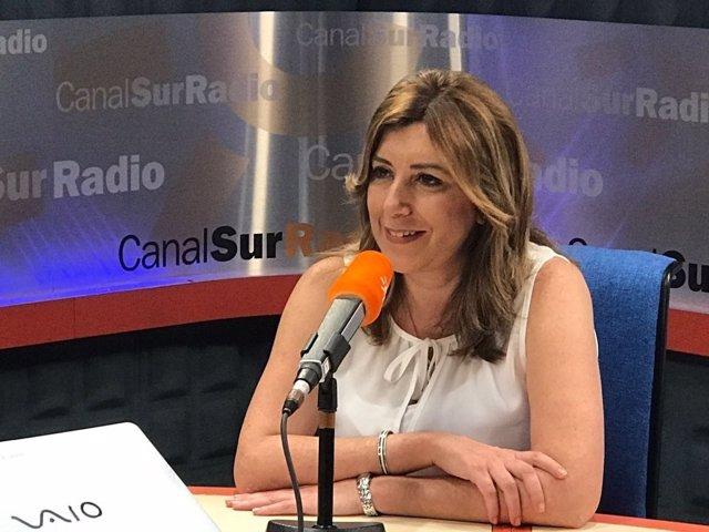 Susana Díaz entrevista en Canal Sur Radio