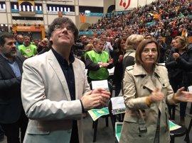 """Forcadell celebra que se cumpla con lo que quería """"una mayoría"""" de catalanes"""