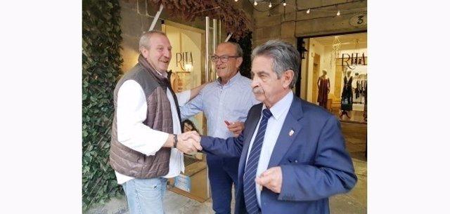 Revilla y Marcano en el Comité