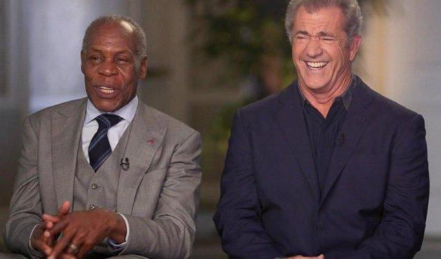 Mel Gibson y Danny Glover por el aniversario de Arma Letal